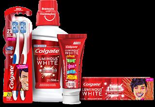 Promoção Colgate Luminous White 2019 - Compre e Ganhe Prêmios
