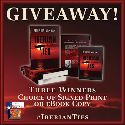 Iberian Ties tour giveaway graphic