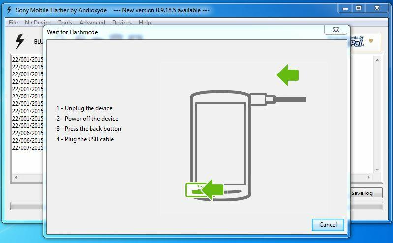 Hướng dẫn up Rom gốc Sony Xperia C3 Dual D2502 | iFilevn xyz