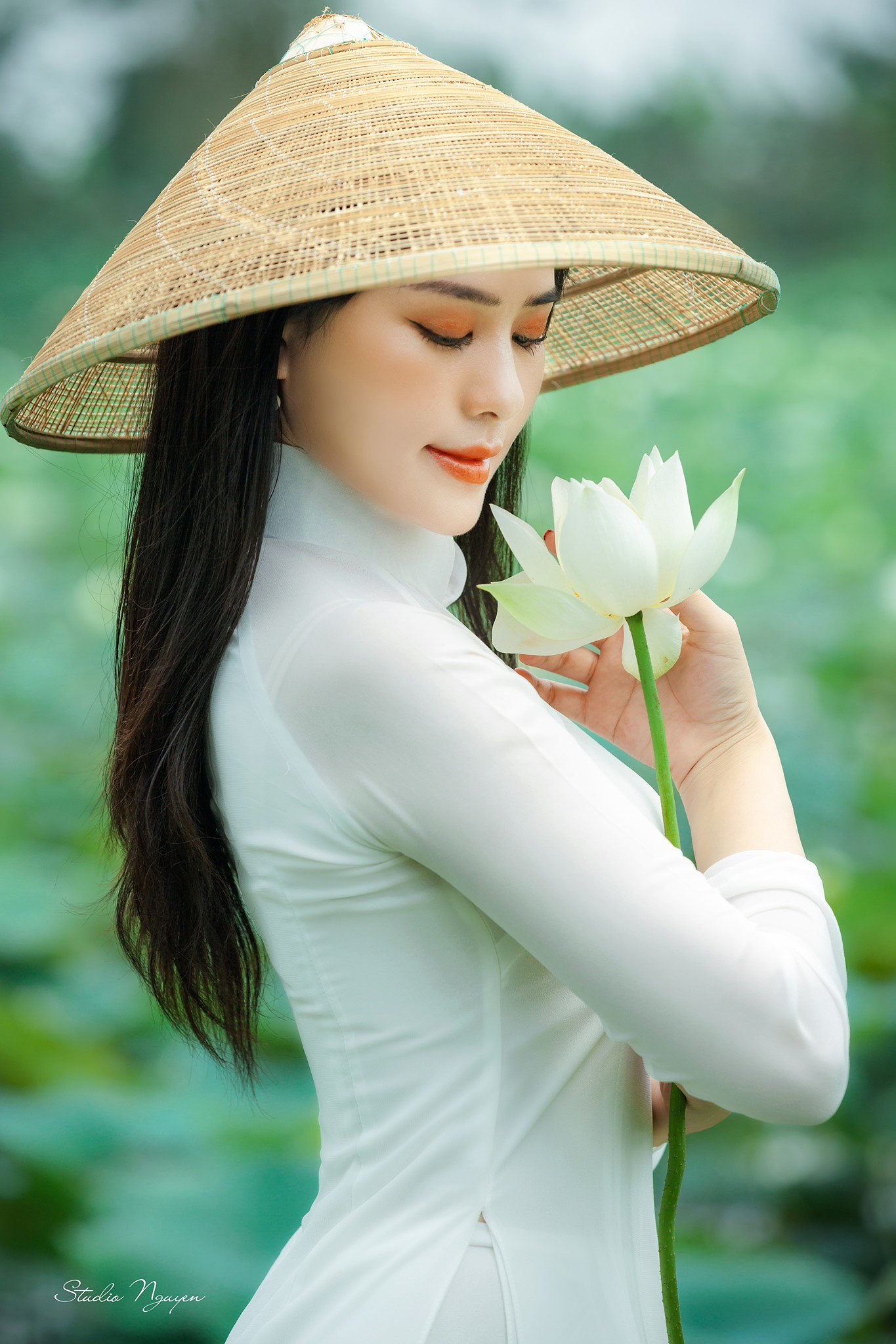 Tuyển tập girl xinh gái đẹp Việt Nam mặc áo dài đẹp mê hồn #57 - 8