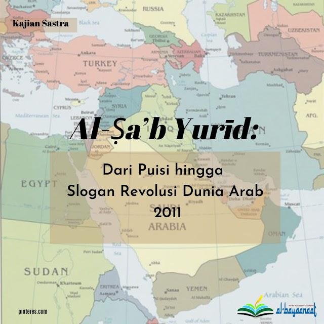 Al-Ṣa'b Yurīd: Dari Puisi hingga Slogan Revolusi Dunia Arab 2011