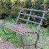 Old Iron Bench
