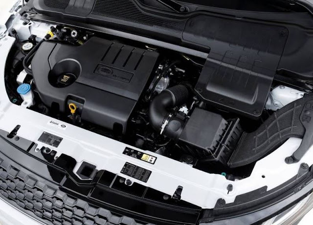 2017 Land Rover Range Rover Evoque Engine