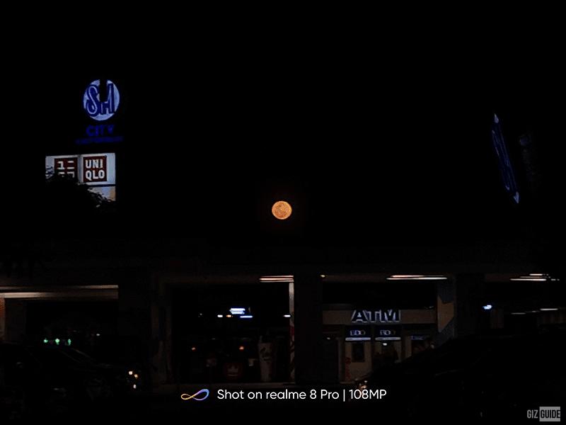 5x zoom moon shot (ISO 100, 1/75s)
