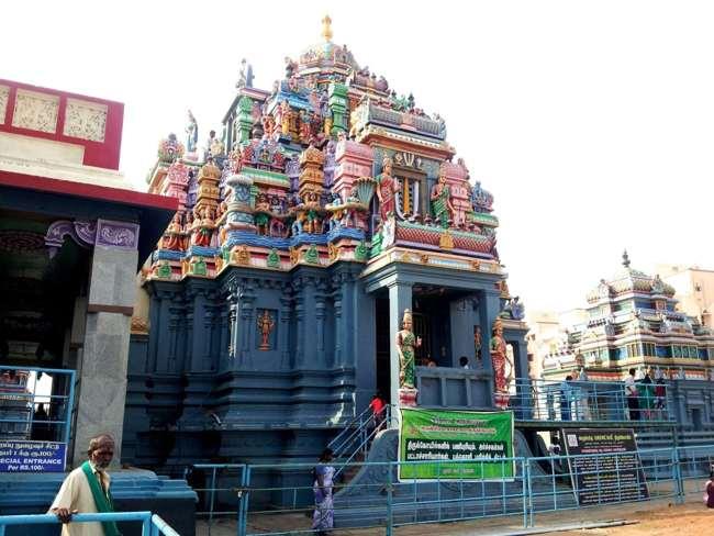 Ashtanga Vimanam At Sri Mahalakshmi Temple