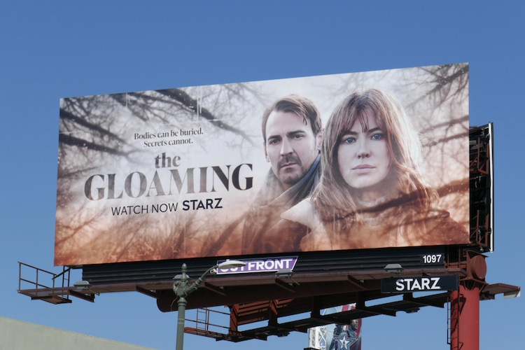 Gloaming series premiere billboard