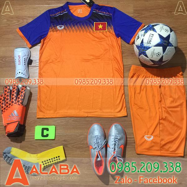 Áo đội tuyển Việt Nam màu cam đẹp