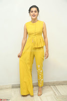 Taapsee Pannu looks mesmerizing in Yellow for her Telugu Movie Anando hma motion poster launch ~  Exclusive 131.JPG