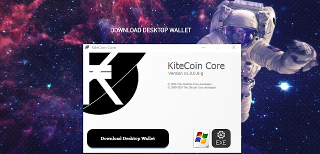 {filename}-Kite Coin New Cryptocurrency, Money For All. Erc20 Token