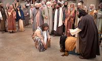 Resultado de imagem para jesus e mulher adúltera pecadora