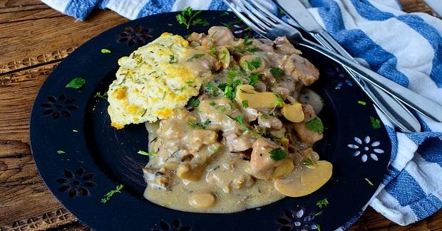 Crock Pot Creamy Rosemary Pork Recipe
