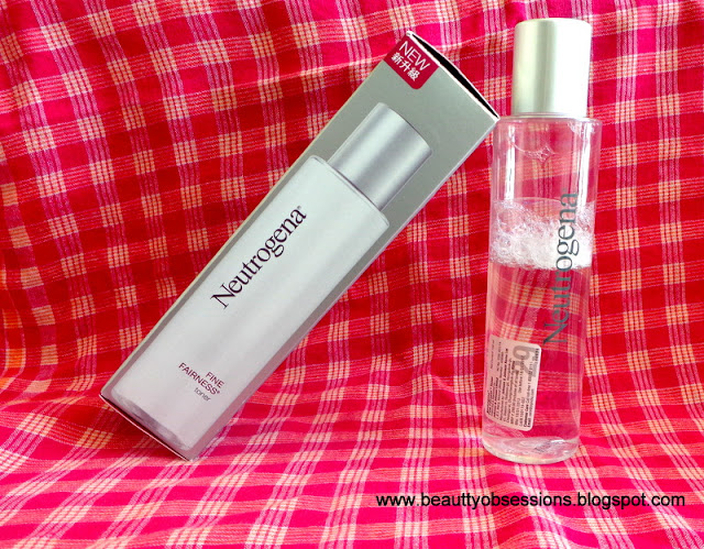 Neutrogena Fine Fairness Toner - Review