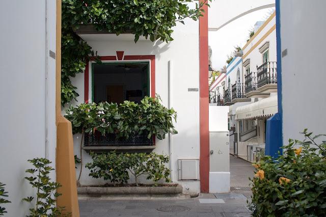 Puerto Mogán – domy v centru