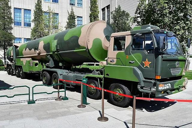 Temukan Silo Baru, Pakar AS Cermati Ekspansi Arsenal Nuklir China