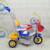 family police sepeda roda tiga