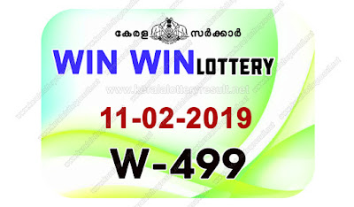 KeralaLotteryResult.net, kerala lottery kl result, yesterday lottery results, lotteries results, keralalotteries, kerala lottery, keralalotteryresult, kerala lottery result, kerala lottery result live, kerala lottery today, kerala lottery result today, kerala lottery results today, today kerala lottery result, Win Win lottery results, kerala lottery result today Win Win, Win Win lottery result, kerala lottery result Win Win today, kerala lottery Win Win today result, Win Win kerala lottery result, live Win Win lottery W-499, kerala lottery result 11.02.2019 Win Win W 499 11 February 2019 result, 11 02 2019, kerala lottery result 11-02-2019, Win Win lottery W 499 results 11-02-2019, 11/02/2019 kerala lottery today result Win Win, 11/02/2019 Win Win lottery W-499, Win Win 11.02.2019, 11.02.2019 lottery results, kerala lottery result February 11 2019, kerala lottery results 11th February 2019, 11.02.2019 week W-499 lottery result, 11.02.2019 Win Win W-499 Lottery Result, 11-02-2019 kerala lottery results, 11-02-2019 kerala state lottery result, 11-02-2019 W-499, Kerala Win Win Lottery Result 11/02/2019