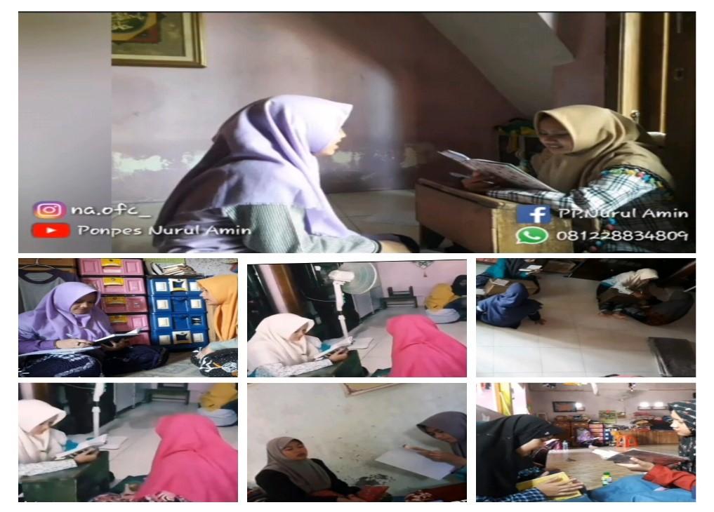 Sistem menghafal Al Quran di Pondok Putri Tahfidz Qur'an Nurul Amin