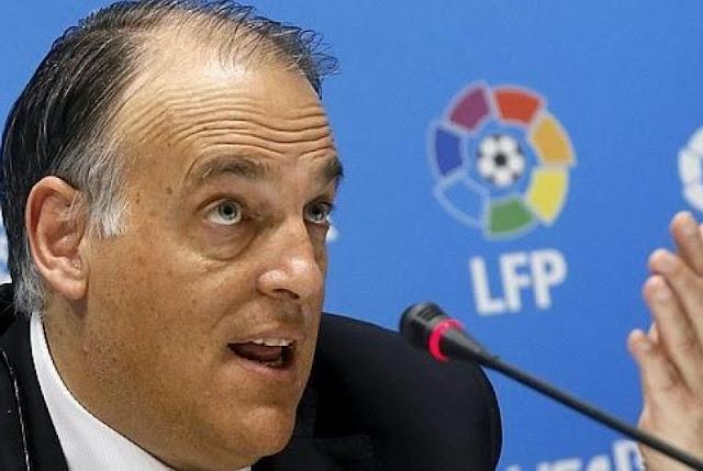 Presiden LaLiga, Javier Tebas, bicara soal potensi kembalinya Liga Spanyol. Tebas ingin LaLiga mulai lagi pada pertengahan Juni.