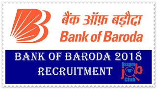 bank of baroda job apply 2018