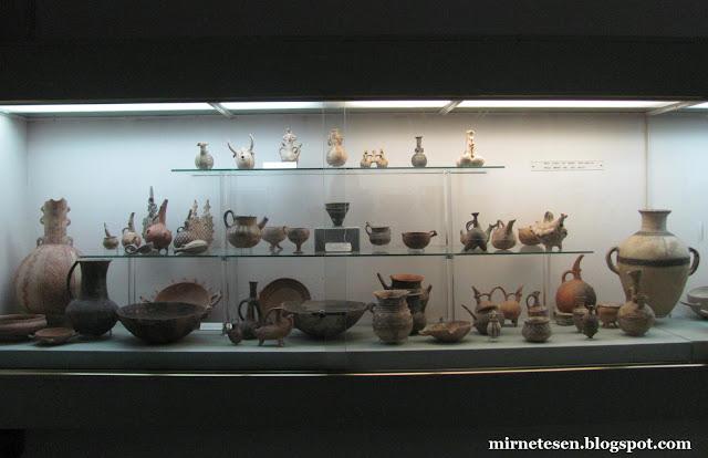 Археологический музей Кипра - керамика, бронзовый век