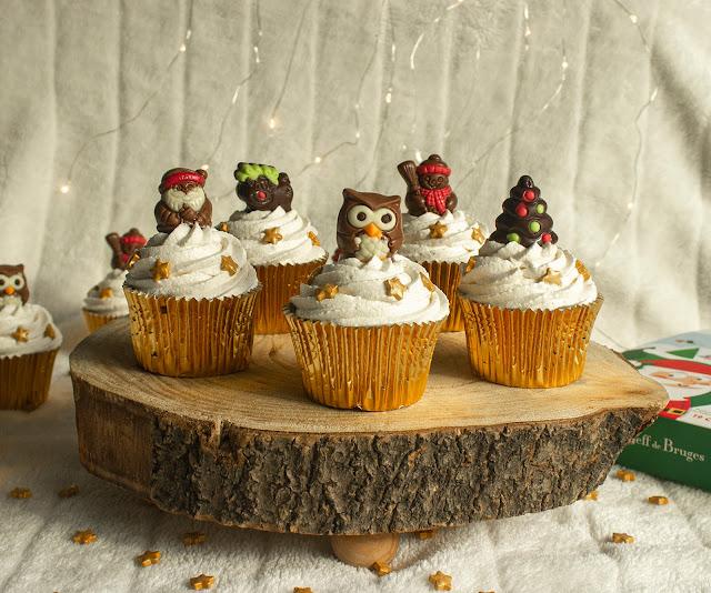Cupcakes Navideños De Jengibre
