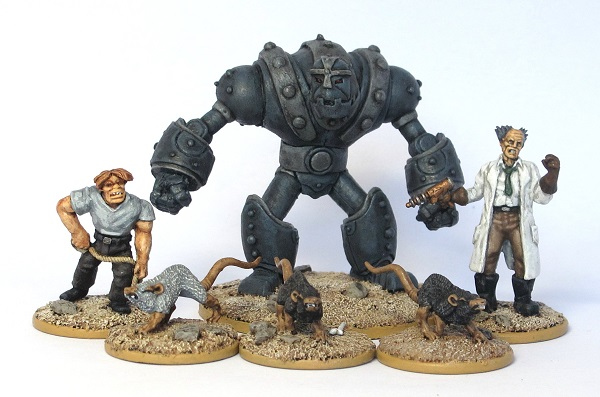 With Science Warhammer Fantasy Mad Scientist Quest: Preacher By Day...mild Mannered Wargamer By Night: Pulp