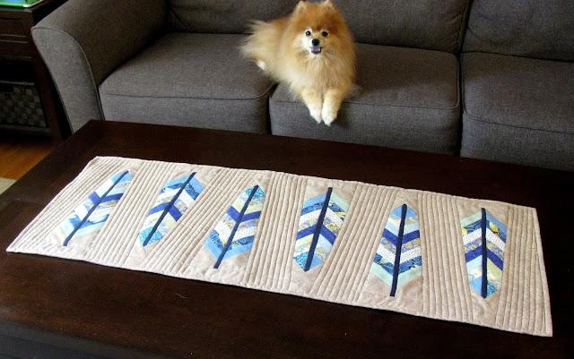 Festher Your Nest table runner pattern
