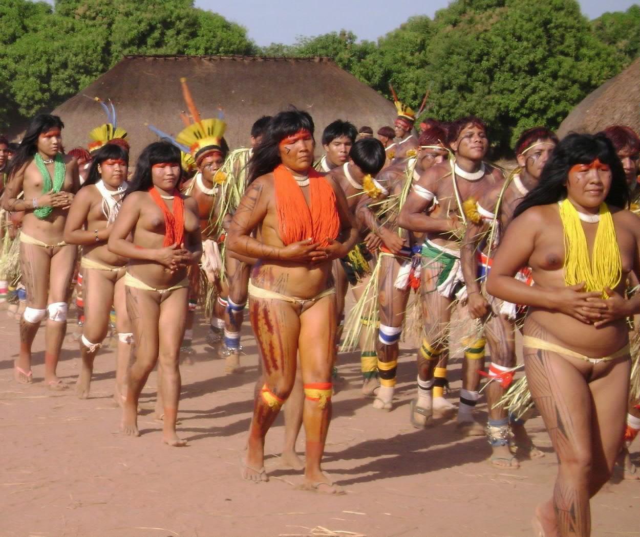 Xingu Women Customs Dress