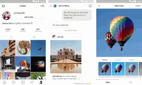 تنزيل انستقرام لايت Instagram Lite APK أحدث إصدار مجانا