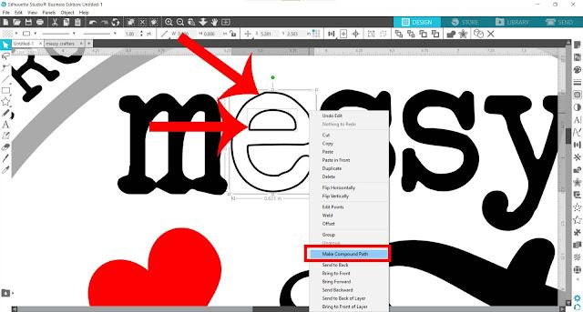 silhouette studio, fill color tool, heat transfer vinyl, compound path, silhouette studio tricks