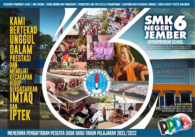 PPDB SMKN 6 JEMBER 2021/2022