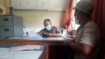 Tidak Terima Dipindahkan ke Riau, Seorang Pekerja PT PAN Kinali Pasbar Lapor ke Disnaker