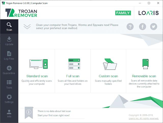 Screenshot Loaris Trojan Remover 3.0.98.236 Full Version