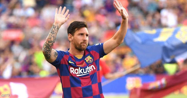 ليونيل ميسي لاعب برشلونة يوضح موقفه بشأن الرحيل عن برشلونة