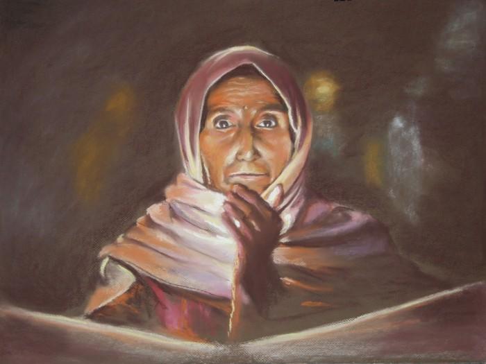 Неутомимая художница. Antonia Contra