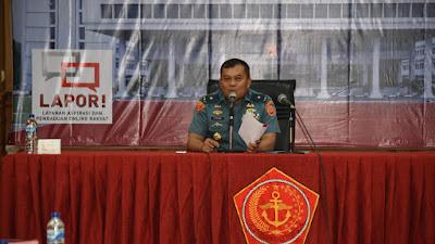 TNI Gelar Sosialisasi Layanan Aspirasi dan Pengaduan Online Rakyat