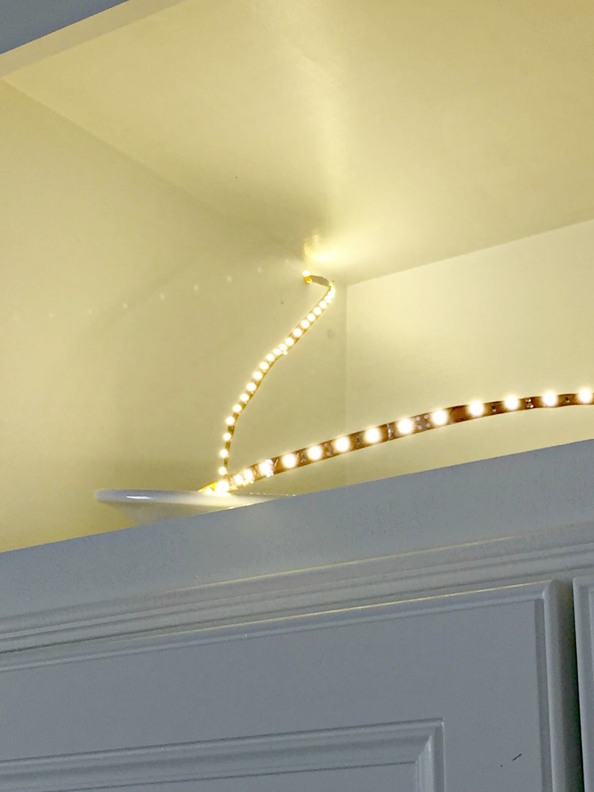LED light strips for cabinets