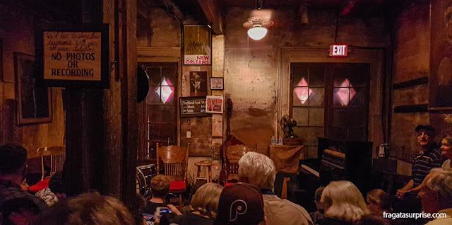 Preservation Hall, Nova Orleans
