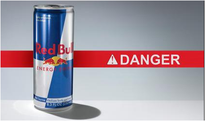 Red Bull can cause sudden heart attack