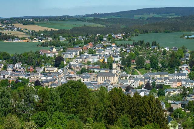 Vogtland Panorama Weg  Etappe 7 von Bad Brambach nach Markneukirchen  Wandern in Sachsen 15