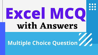 Excel MCQ