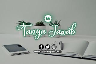 tanya jawab seputar rumah tangga dalam islam
