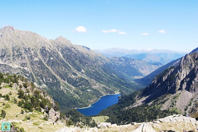 Vistas desde el Portarró d'Espot, Parque Nacional de Aigüestortes