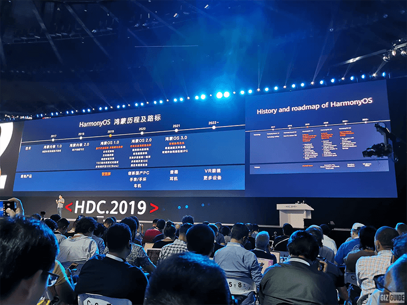 It is a seamless cross-platform OS according to Huawei