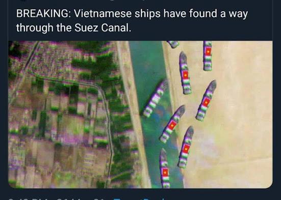 Giải cứu tàu ever given theo cách của Việt Nam