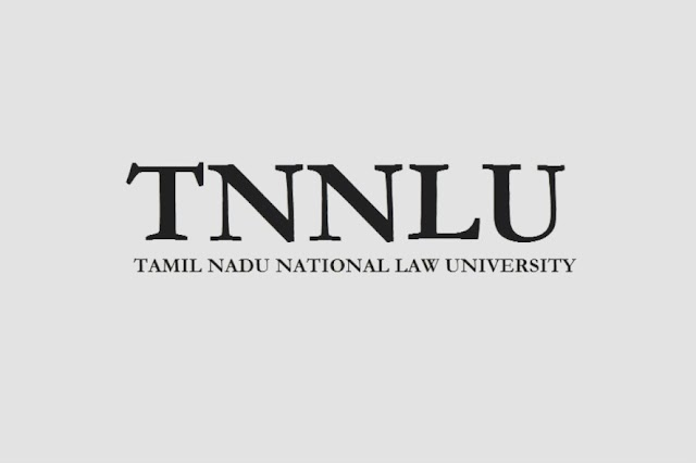 Call for Papers| TNNLU Law Review [Volume IV Issue I]