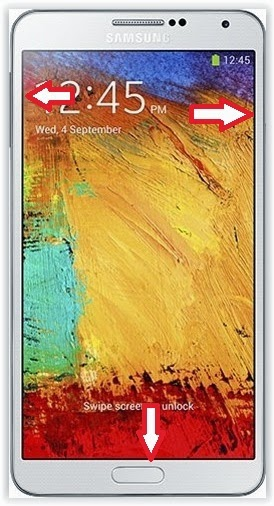 Hard reset Samsung Galaxy Note 3 N9000