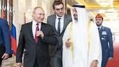 بوتين يصل الامارات بعد زيارته للسعوديه