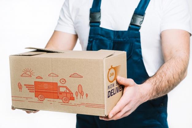 Download 75+ Best Cardboard Box Mockup Templates | Graphic Design ...