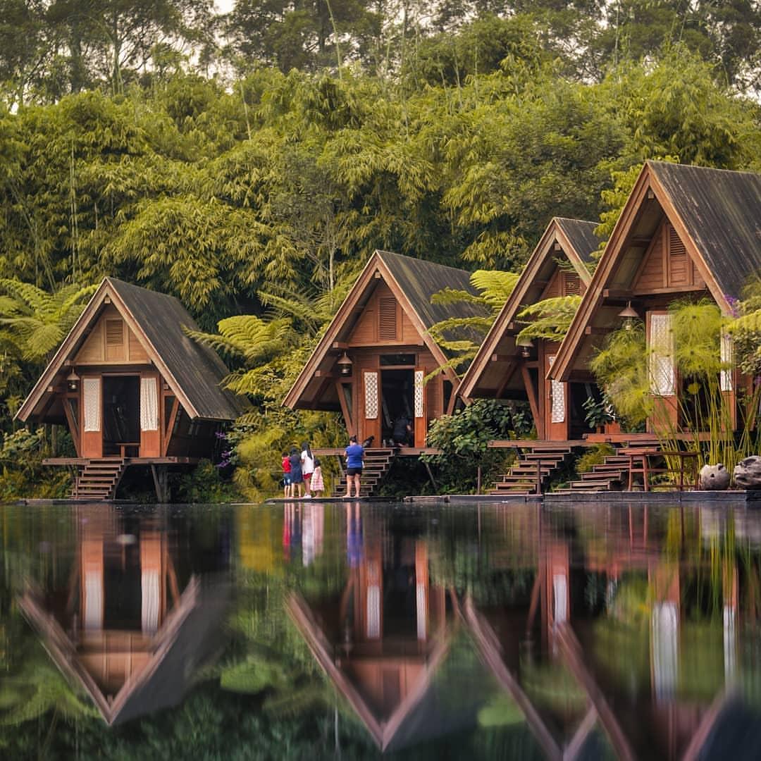 Harga Tiket Masuk Dusun Bambu Lembang Terbaru 2020